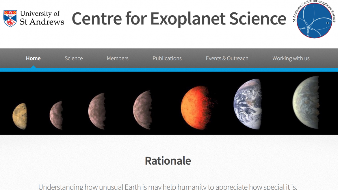 St Andrews Centre for Exoplanet Research